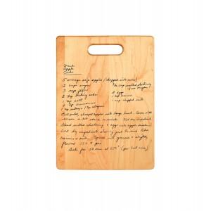 Treasured Recipe Cutting Board